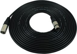 Gls Audio 25 Foot Mic Cable Patch Cords - Xlr Male To Xlr Fe