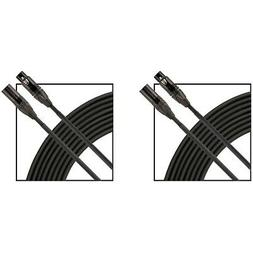 advantage microphone cable 2 pack 25 ft