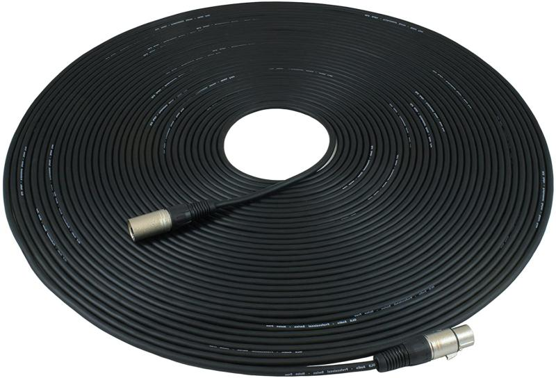 100ft mic cable patch cords xlr male