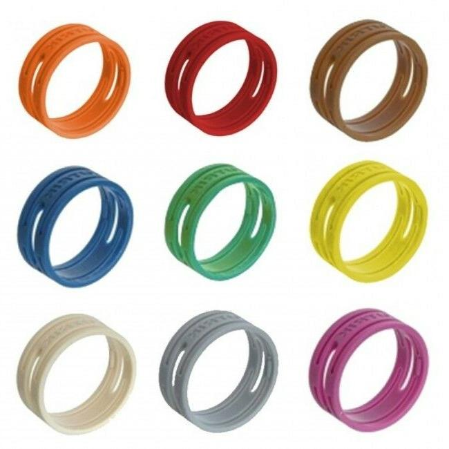 4 pack genuine xxr color coding ring