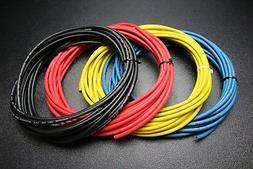 microphone cable blue red black yellow 100