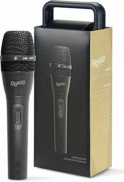 Stagg SDM80 Handheld Dynamic Cardioid Microphone with Protec