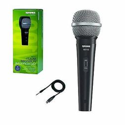 """Shure SV100-W Multi-Purpose XLR-1/4"""" Microphone and Cable"""